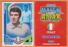 Italy Dino Zoff International Legend